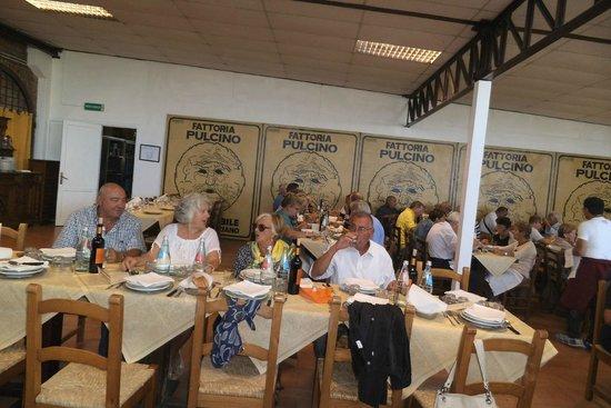 Ristorante della Fattoria Pulcino: Sala da pranzo