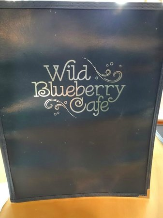Wild Blueberry Cafe LLC : Menu
