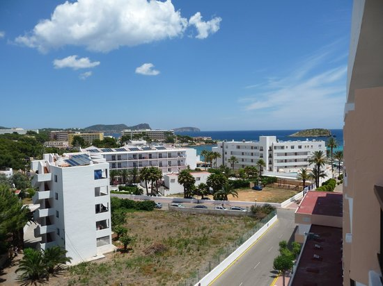Caribe Ibiza Hotel: View from balcony