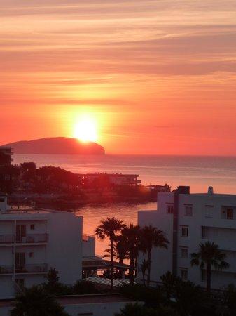 Caribe Ibiza Hotel: Morning view from balcony