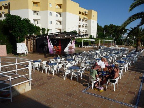 Caribe Ibiza Hotel: Stage