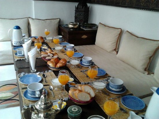 Riad Ghali & SPA: desayuno