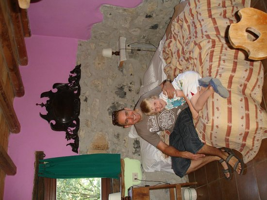 Agriturismo Al-Marnich: The double bed