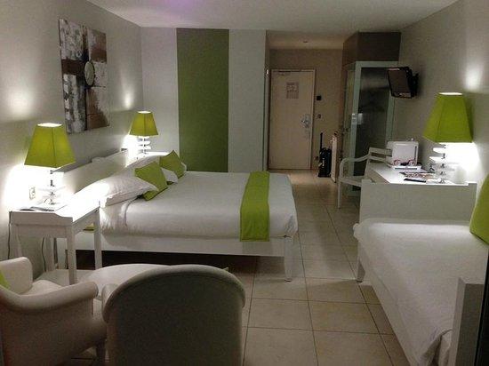 Hôtel La Pagerie : Chambre 414 1er étage