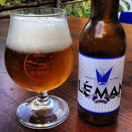 La Fetiuere: Bière blanche locale