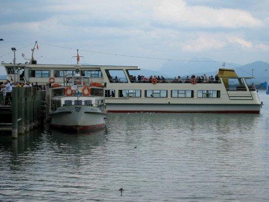 Chiemsee Schifffahrt: Anleger Fraueninsel