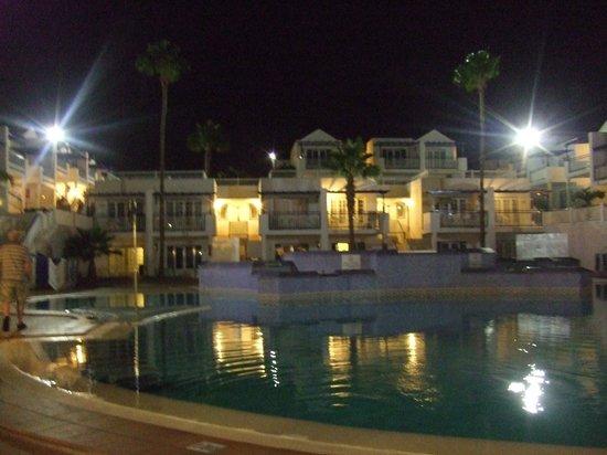 Atlantis Las Lomas: View from room at night