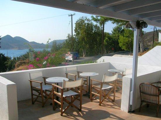 Panorama Hotel: Blick vom Frühstücksbereich