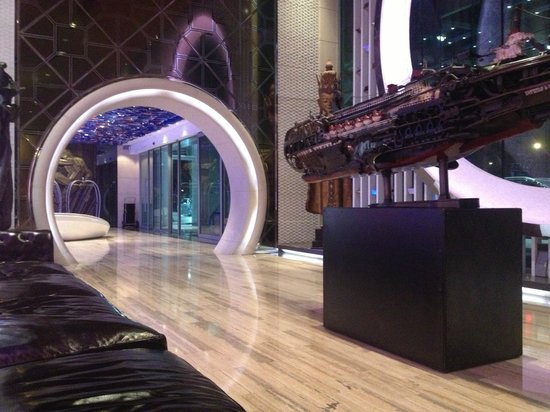Hotel Eclat Beijing Lobby Area