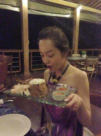 Chapung SeBali Resort and Spa: Great food - nasi goreng