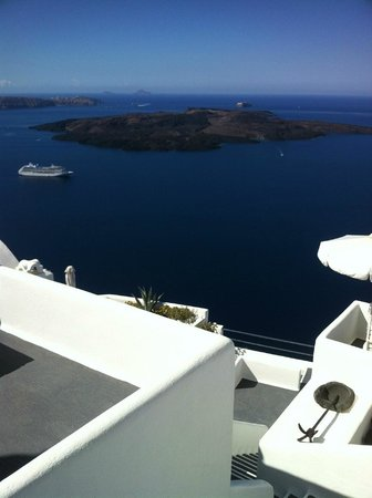 Homeric Poems: Morning view from the room