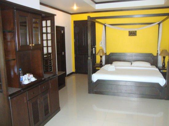 แซนด์ซี รีสอร์ท แอนด์ สปา: Hotelzimmer