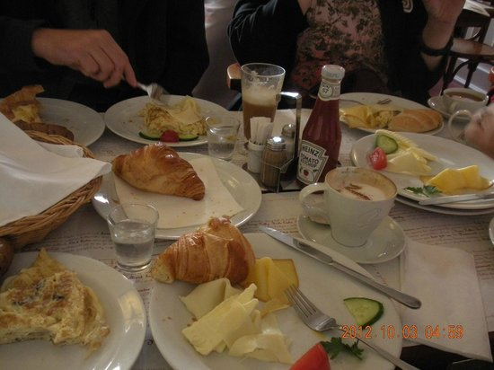 Old Town Residence Apartments: Breakfast voucher at the next door French cafe