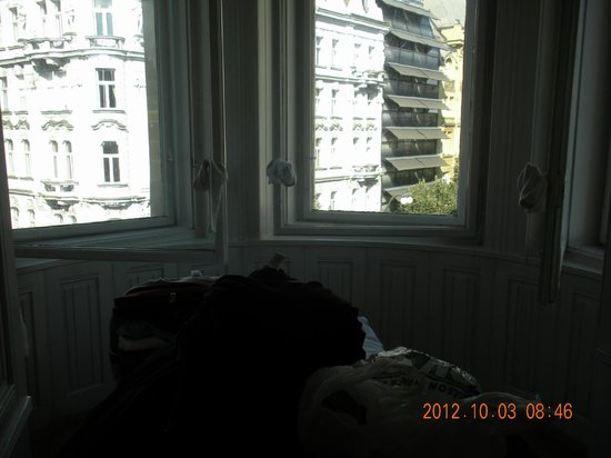 Old Town Residence Apartments: One of our two bedrooms (partial view)