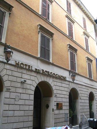 Hotel Dei Borgognoni: Fachada do Hotel