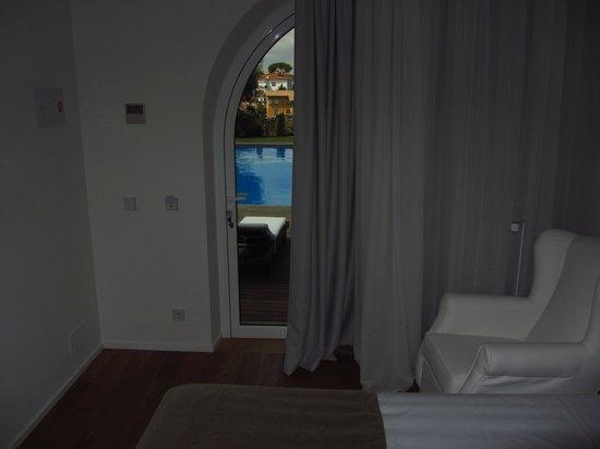 Hostalet de Begur : Vista desde la habitación