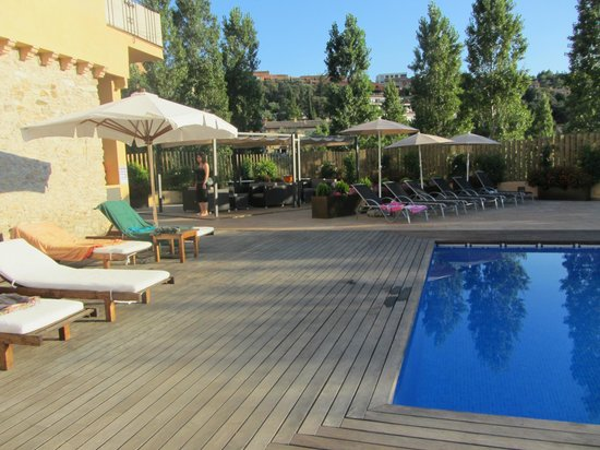 Hostalet de Begur : piscina