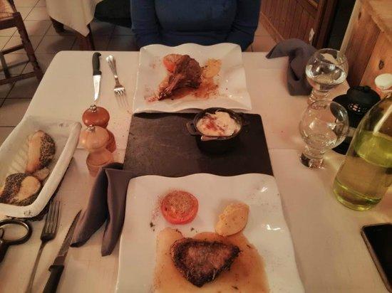 Auberge de la Croix Perrin: dinner