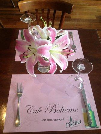 Cafe Boheme: Restaurant