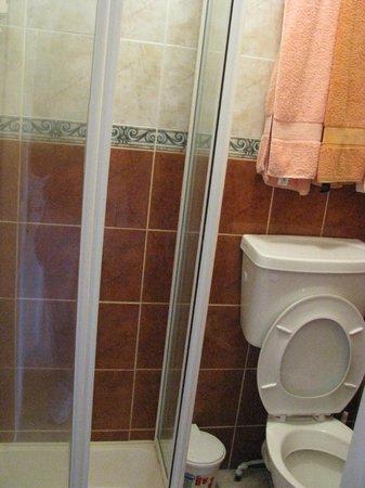 Corrigeen B&B: Il bagno minuscolo
