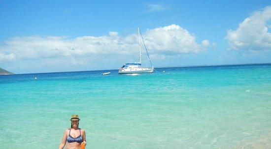 Simpson Körfezi, St-Martin / St Maarten: Celine