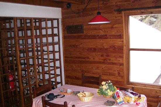 Cabanas Luz de Luna: Hall