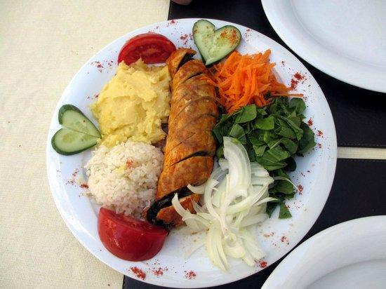 Wallabies Aquaduct Restaurant : Фирменное блюдо хозяйки ресторана