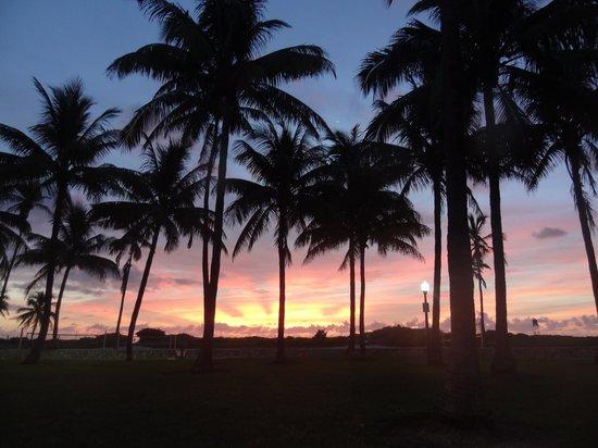 Beacon South Beach Hotel : Miami morgens um 7 am