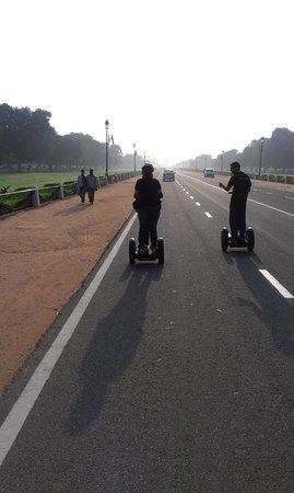‪Segway Tour India Rajpath‬