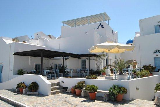 Aethrio Hotel: Hotel areas