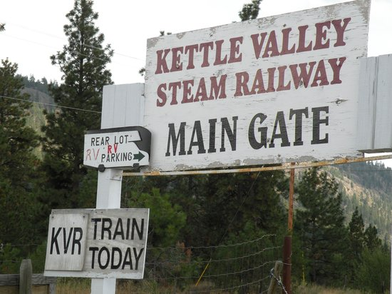 Kettle Valley Steam Railway: KVR