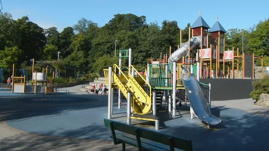 Otley, UK: Children's Play Area