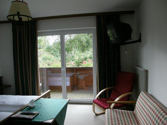 Pension Gallnhof: Room with balcony