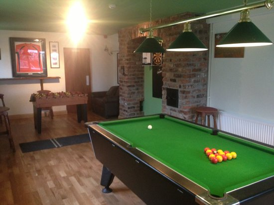 The Lamb of Rhos Country Inn: Games Room