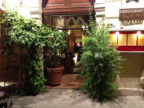 Restaurant Le QG: Bienvenue au Q.G.