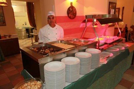 Villa Emma Hotel: buffet della cena