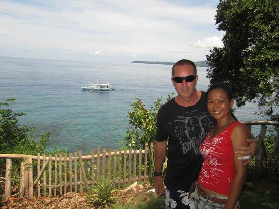 Bohol Lahoy Dive Resort: Hausriff