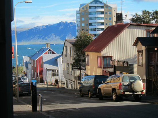 About 3 blocks from Downtown Reykjavik Apartments on main shopping street