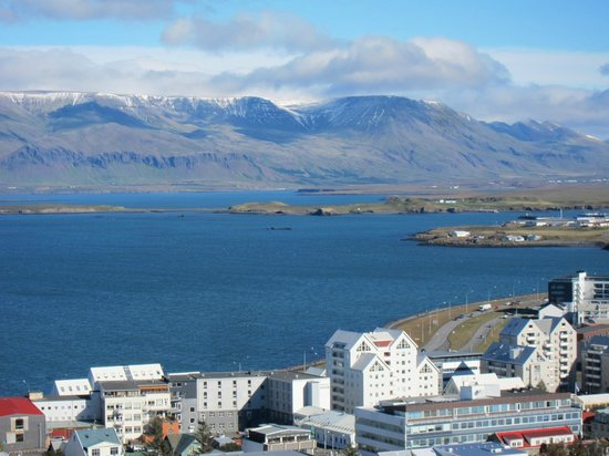 Views nearby from the Downtown Reykjavik Apartments