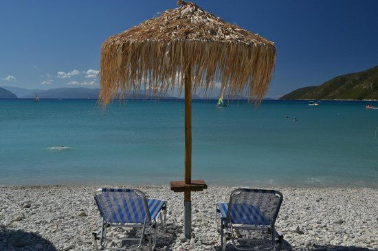 Hotel Phoenix : Vasiliki beach