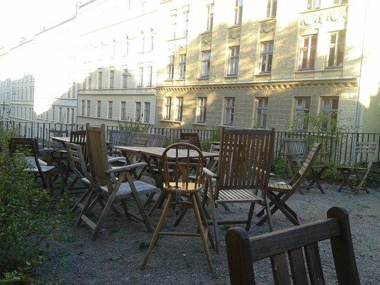 Hotel Hellstens Malmgard: la terraza