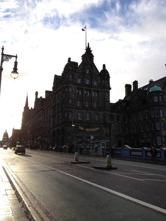 The Scotsman Hotel : View from bridge