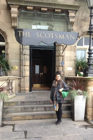 The Scotsman Hotel: Main entrance