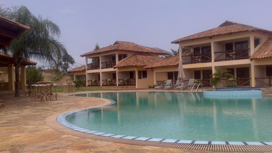 Hôtel de la Palmeraie : piscine de l'hôtel