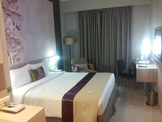 Mercure Bali Nusa Dua : standard room.