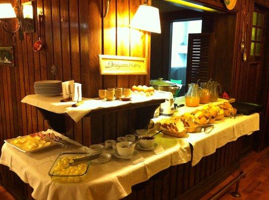 La Surena Hosteria: Café da Manhã