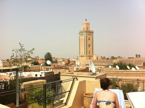 Riad Misria : the view from the terrace