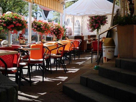 Restaurant Kochpott: Außenterrasse