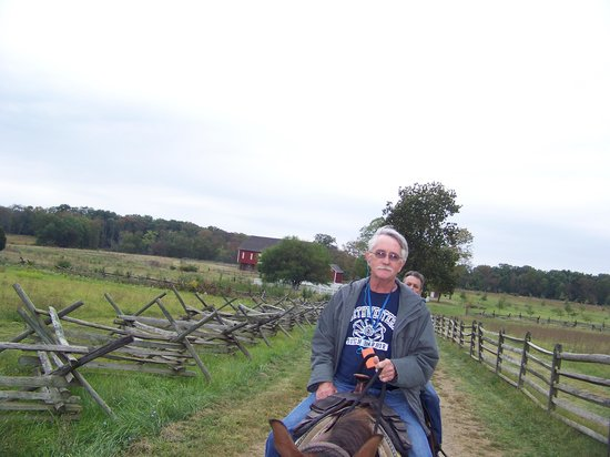 Confederate Trails of Gettysburg : Loving every minute!