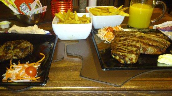 La Pampa: T-bone steak